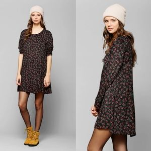 Urban Pins and Needles Long-Sleeve Floral Dress